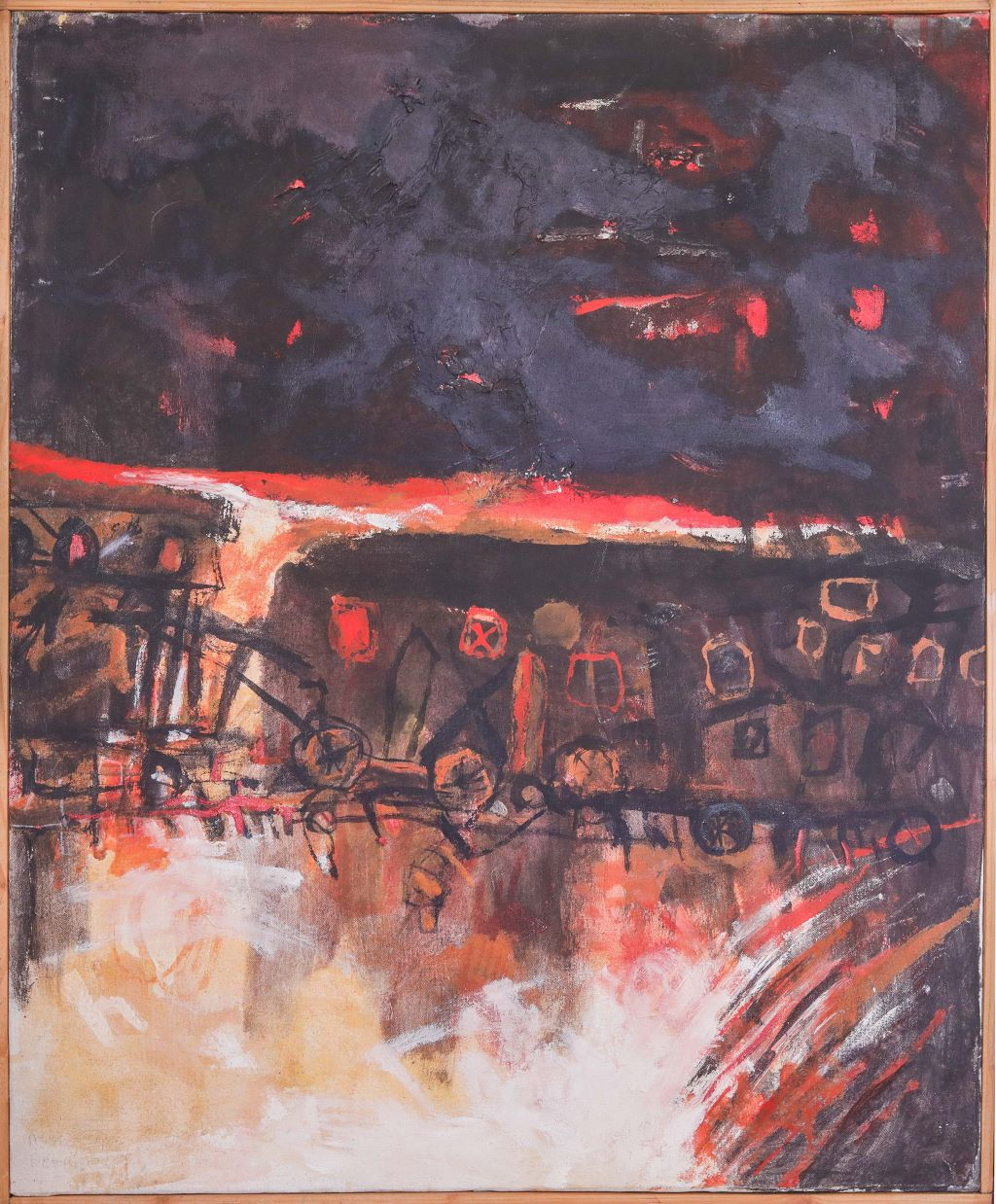 Ethiopian Contemporary Paintings - AEF Collection 2019 (16)