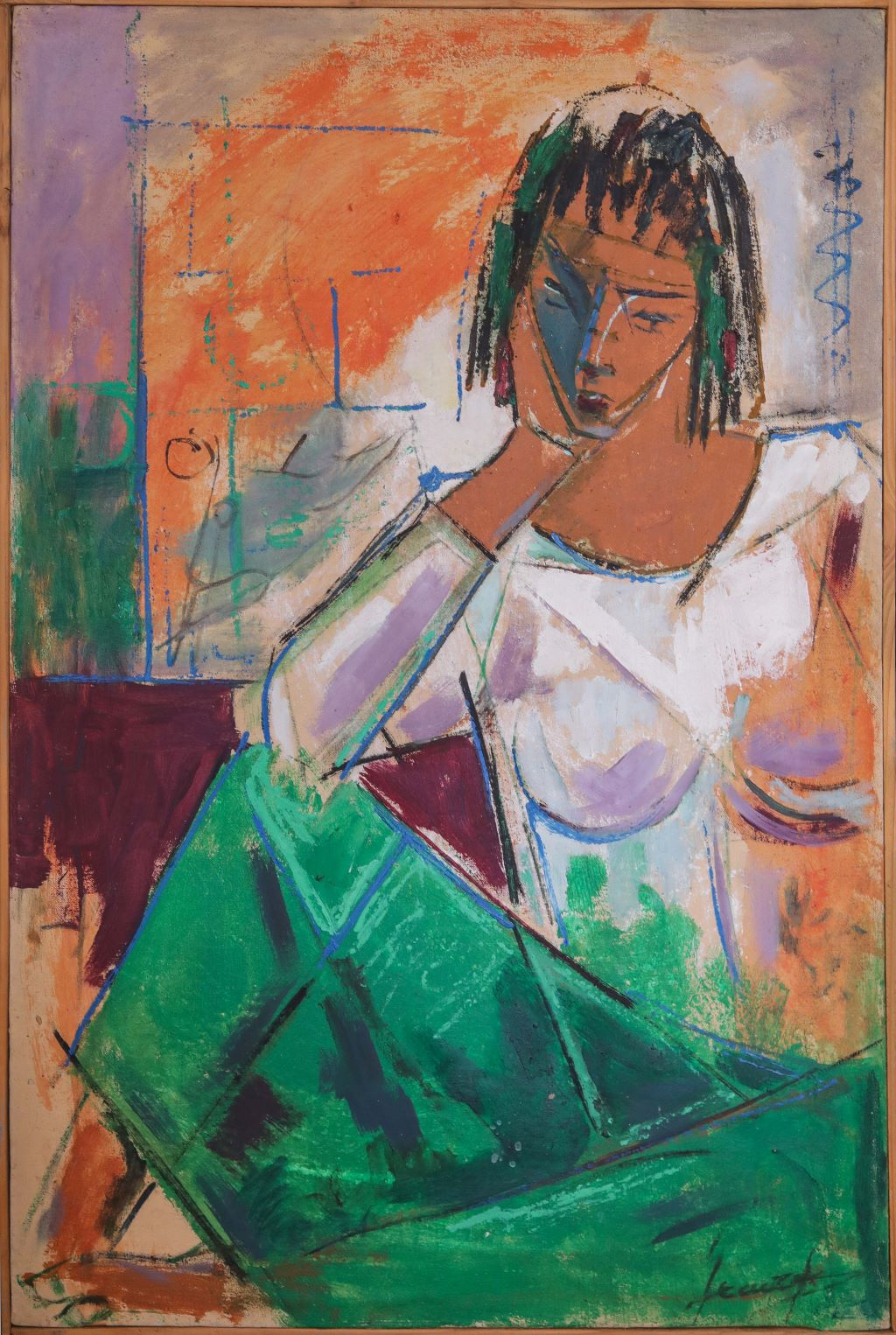 Ethiopian Contemporary Paintings - AEF Collection 2019 (22)