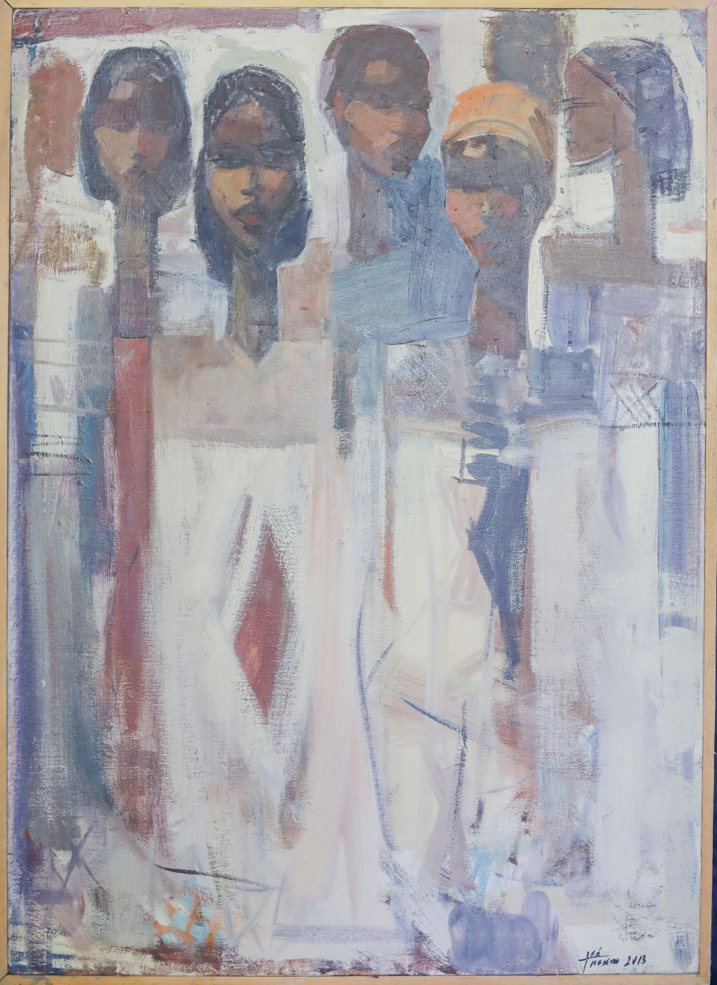 Ethiopian Contemporary Paintings - AEF Collection 2019 (35)