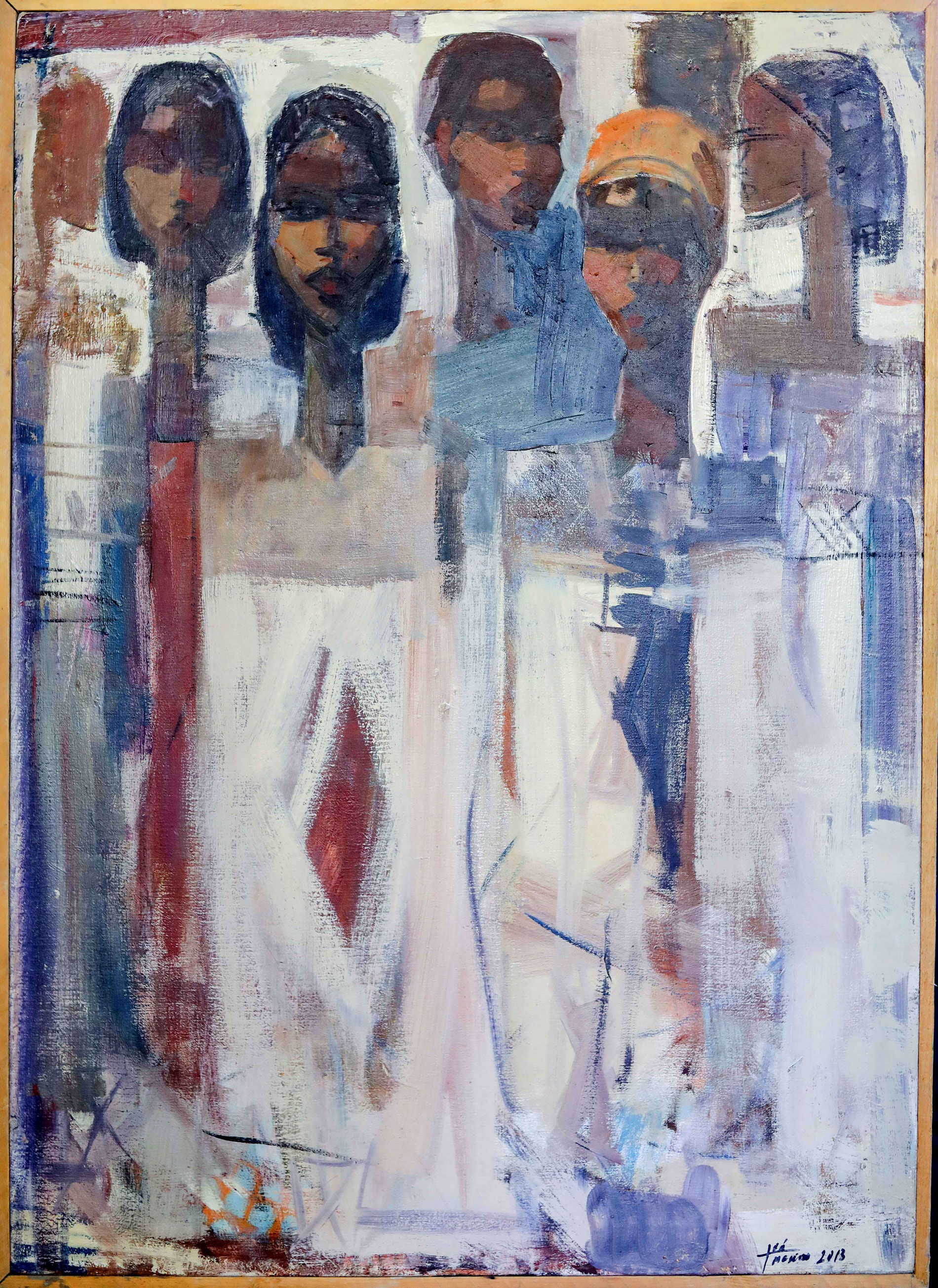 Ethiopian-Contemporary-Paintings---AEF-Collection-2019---(35)-Tadesse-Mesfin