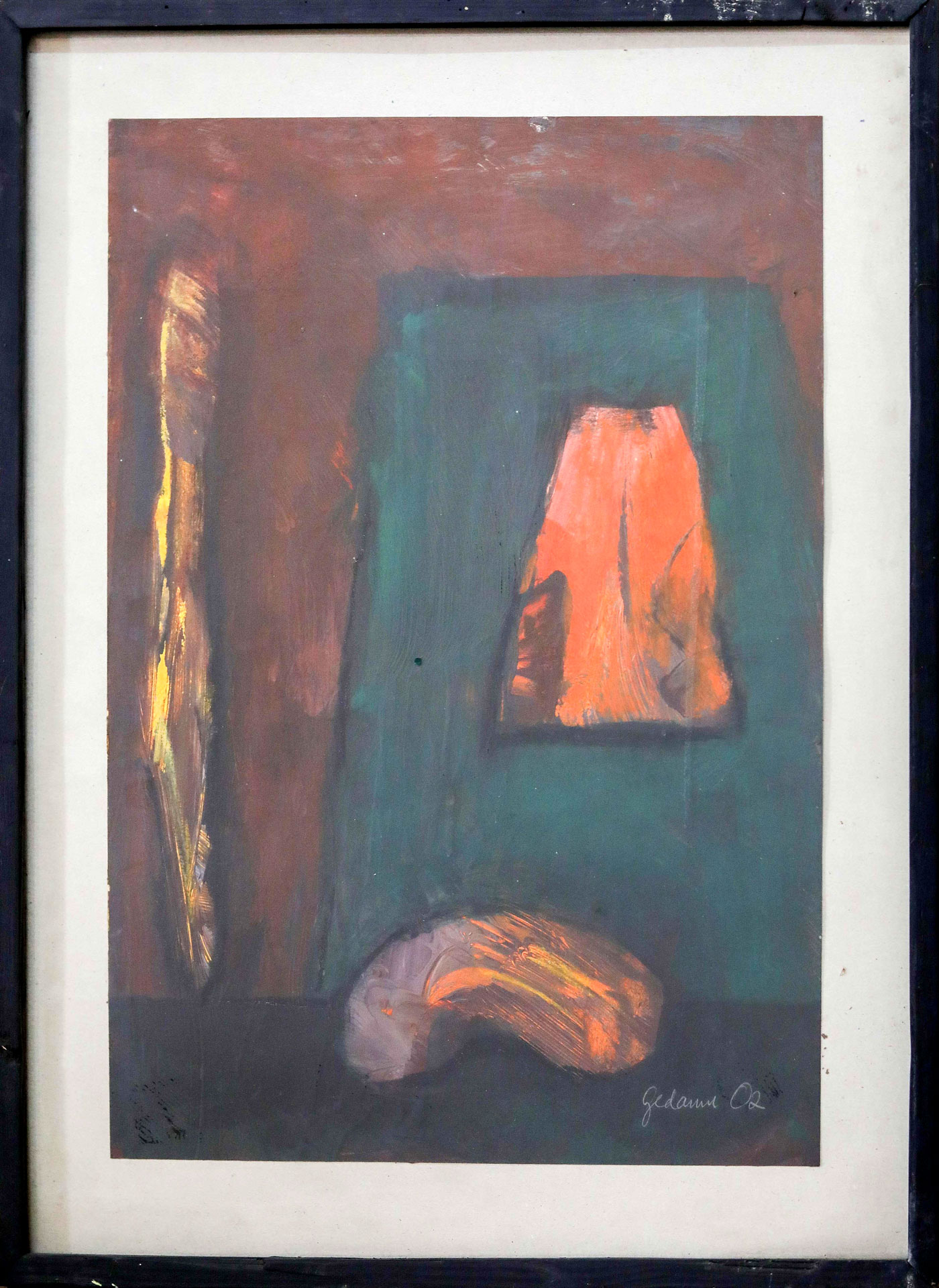 Ethiopian-Contemporary-Paintings---AEF-Collection-2019---(54)-Yohannes-Gedamu