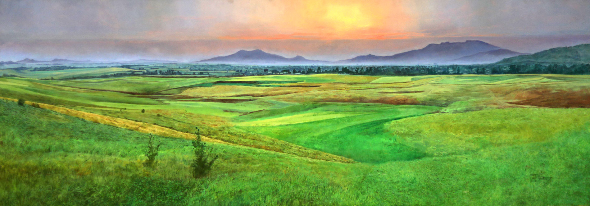 Ethiopian-Contemporary-Paintings---AEF-Collection-2019---(58)-Mezgebu-Tessema-