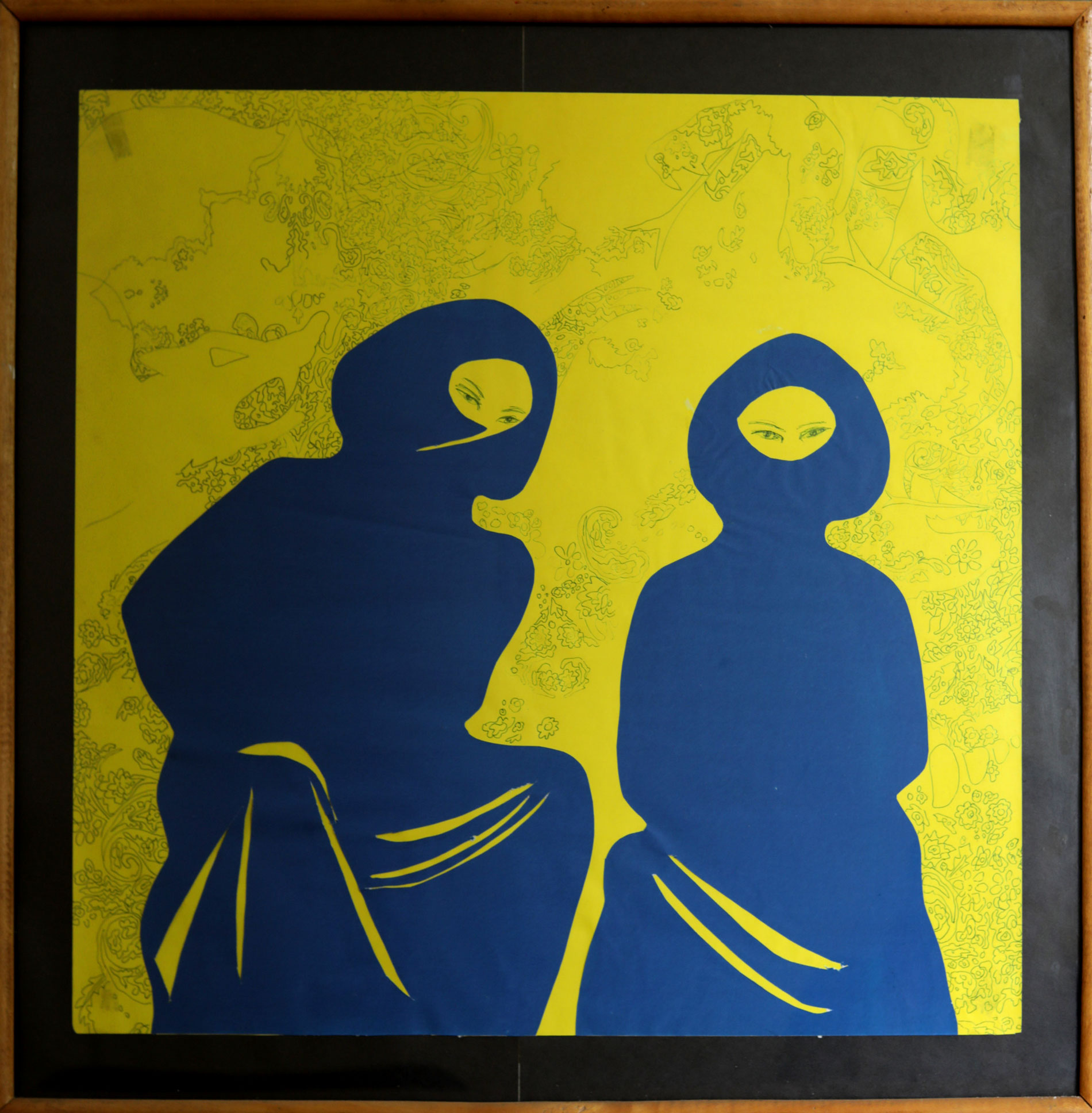 Ethiopian-Contemporary-Paintings---AEF-Collection-2019-Behailu Bezabih