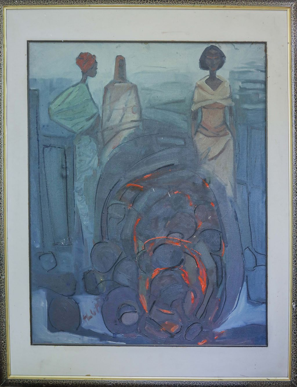 Ethiopian Contemporary Paintings - AEF Collection 2019 (34)