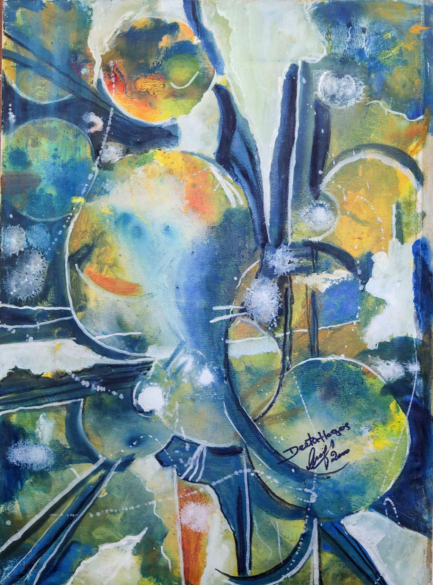 Ethiopian-Contemporary-Paintings---AEF-Collection-2019---(49)-Desta Hagos